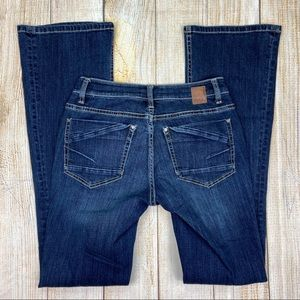 BKE Buckle Blue Stella Bootcut Denim Jeans